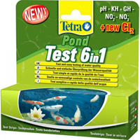 TetraPond Quick Test 6in1